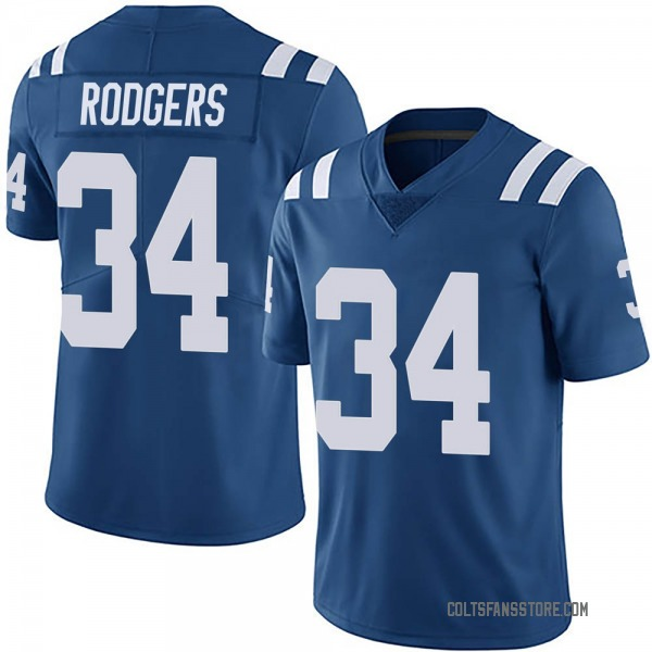 Isaiah Rodgers Indianapolis Colts Limited Royal Team Color Vapor Untouchable Jersey