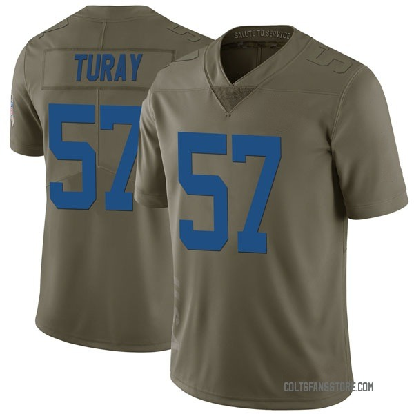 Youth Kemoko Turay Indianapolis Colts Limited Green 2017 Salute to Service Jersey